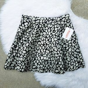 Moon Collection // Leopard Print Circle Skirt